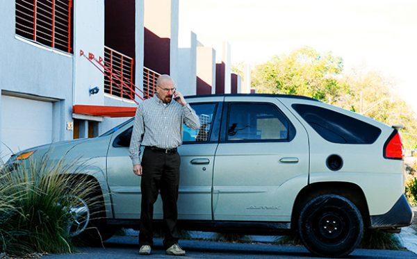 Машина Уолтера Уайта в сериале Во все тяжкие
