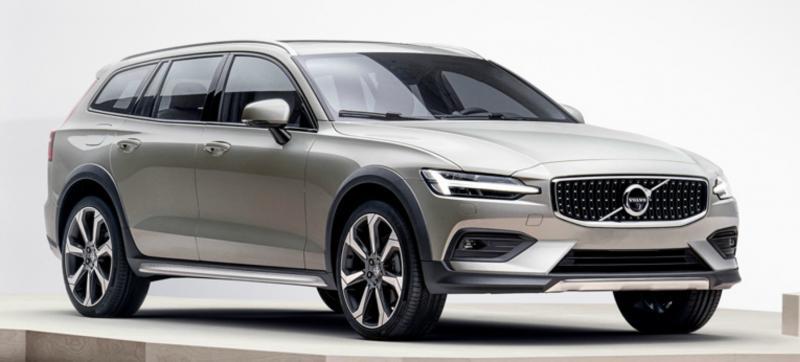 В следующем году в России начнёт продаваться новый Volvo V60 Cross Country
