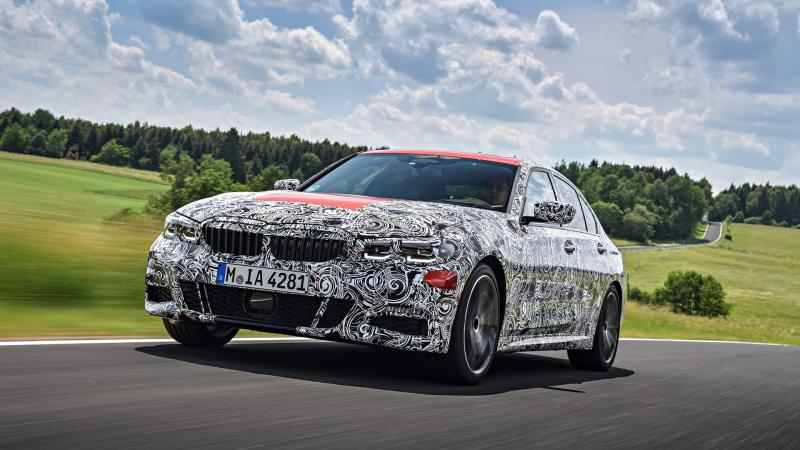 Париж-2018: новая «трёшка» от BMW