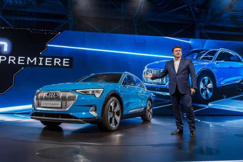 Париж-2018: первый электрокроссовер от Audi