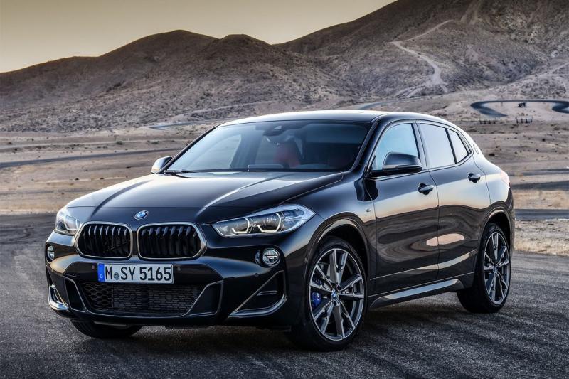 Париж-2018: «заряженный» BMW X2 — больше 300 л. с.