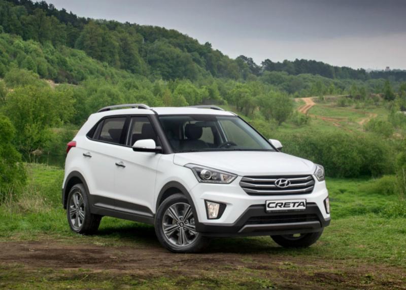 В России объявлено об отзыве кроссоверов Hyundai Creta