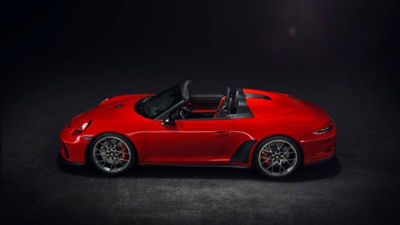 Париж-2018: Porsche 911 Speedster – подарок компании к собственному юбилею