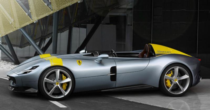 Париж-2018: спорткар Ferrari Monza SP — икона ретро-стиля
