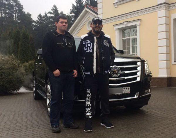 Шуфутинский и Lexus LS 460 long