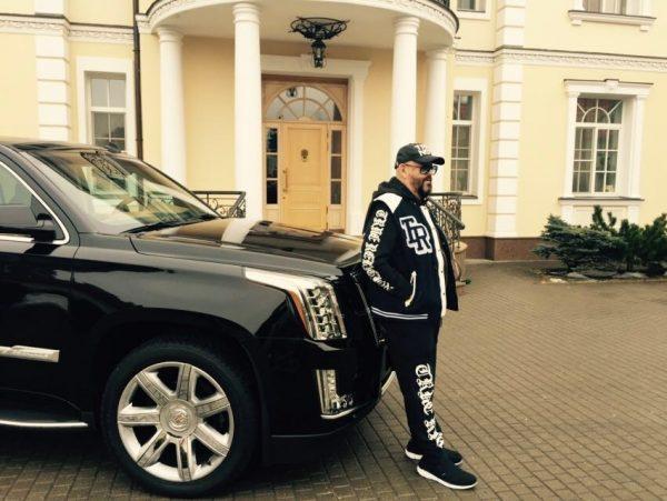 Lexus LS 460 long у Михаила Шуфутинского