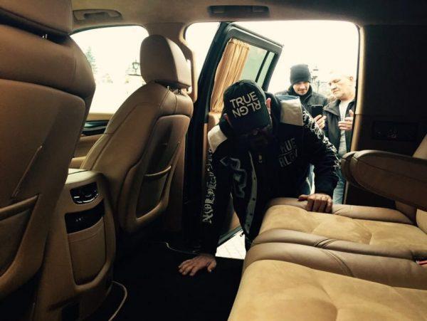 Машина Шуфутинского Lexus LS 460 long