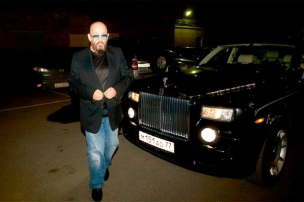 Rolls-Royce Phantom Михаила Шуфутинского