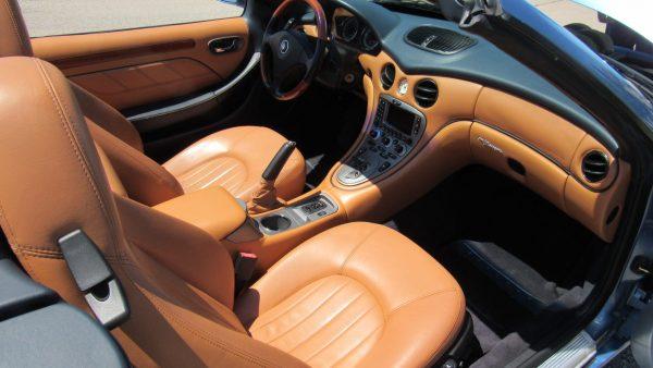 Салон Maserati Spyder Cambio