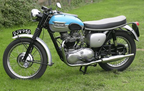 1960 Triumph-Bonneville