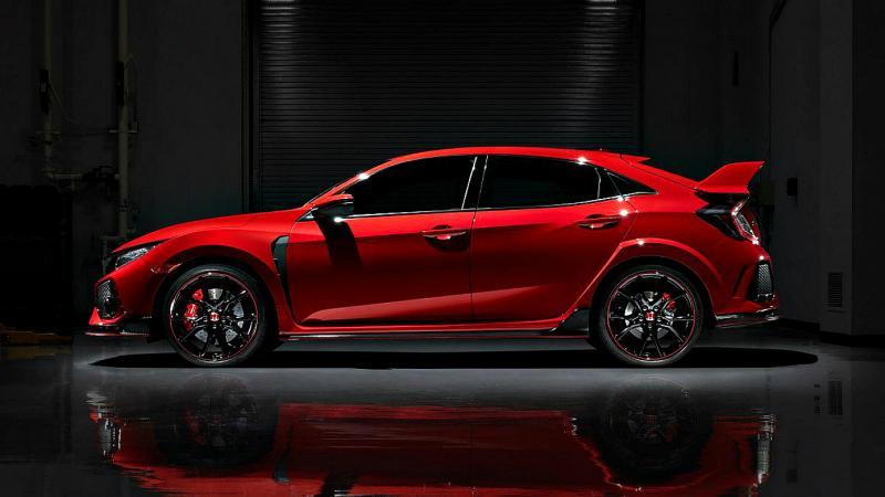 Представлена обновлённая Honda Civic Type R