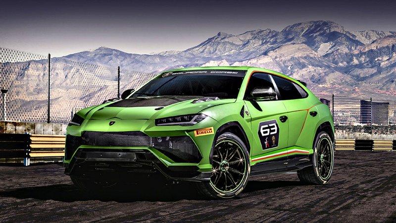 Lamborghini Urus ST-X – суперкроссовер для раллийных трасс