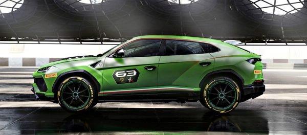 Lamborghini Urus ST-X Concept 1