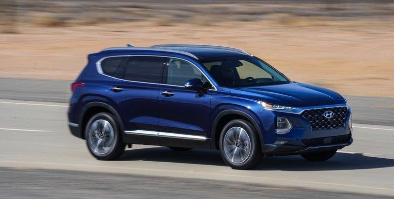 На дорогах появился новый кроссовер Hyundai Palisade