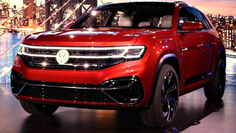 В Китае тестируют новую версию Volkswagen Teramont