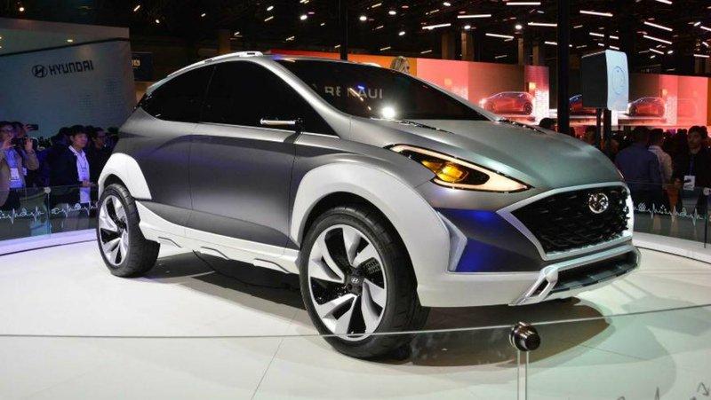 «Зелёный» кроссовер от Hyundai поступит в продажу в 2019 году