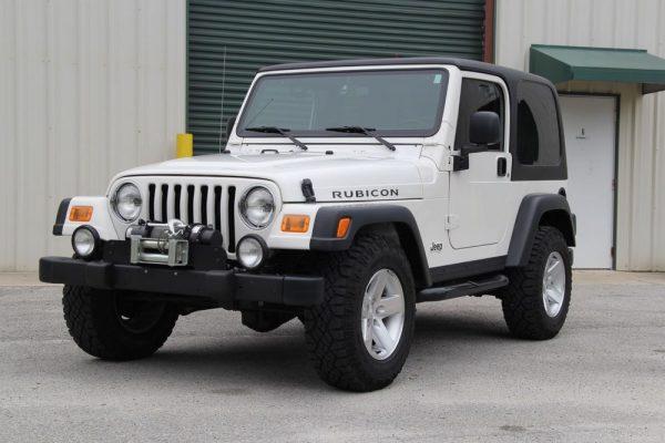 Jeep Wrangler Rubicon TJ 2004