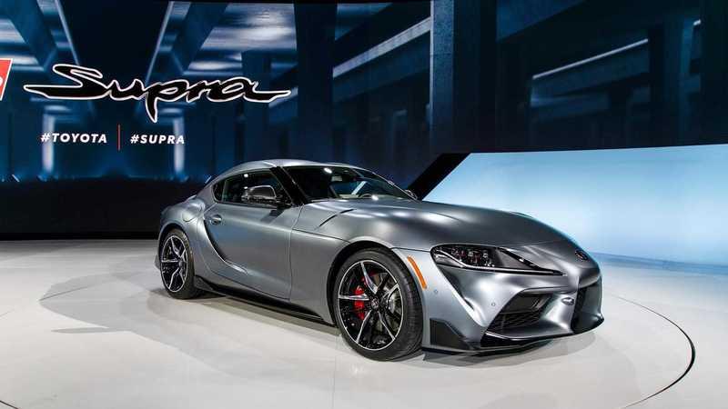 Новинка Toyota Supra 2020 на Detrost Auto Show