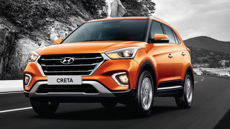 Hyundai начали тестирование новенькой Creta