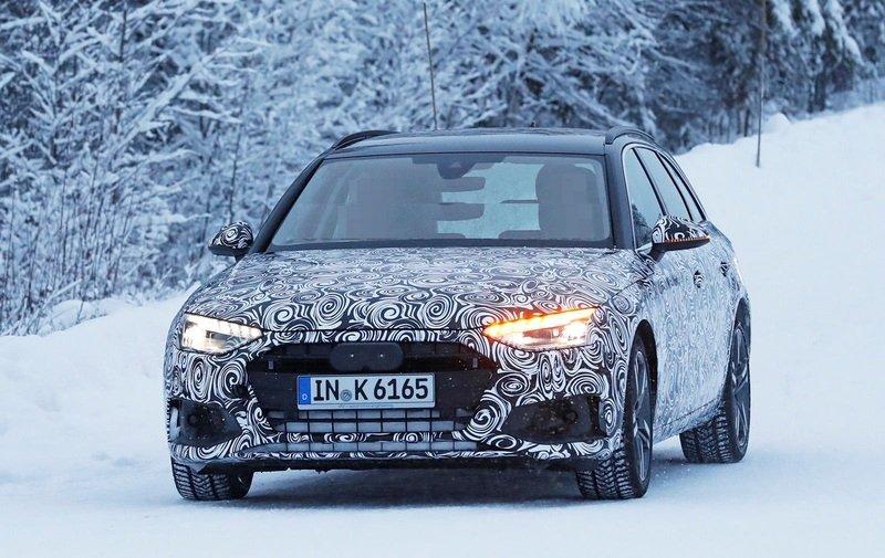 В Сети появились изображения обновлённой модели A4 от Audi