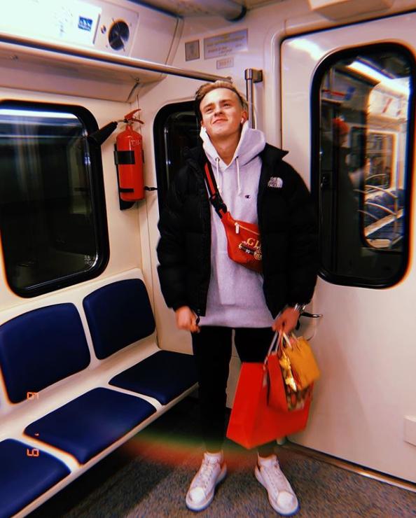 Никита Златоуст в метро