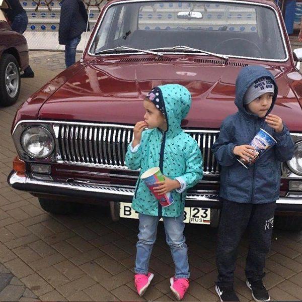 Машина Павла Мамаева