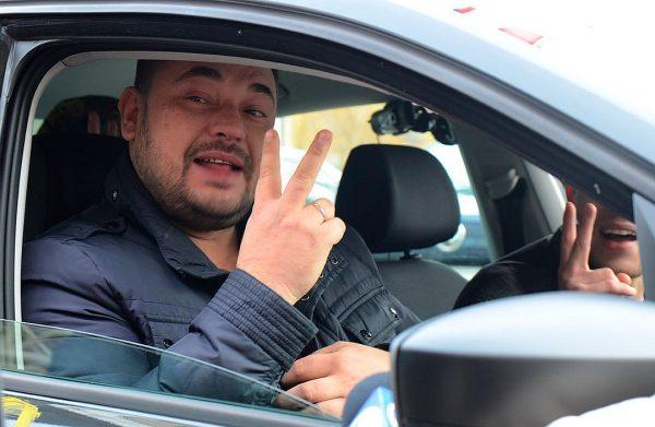 Сергей Жуков в авто