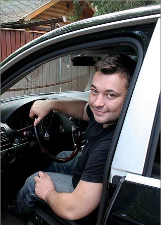 Машина Сергея Жукова