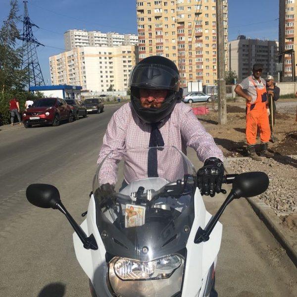 Мотоцикл Милонова