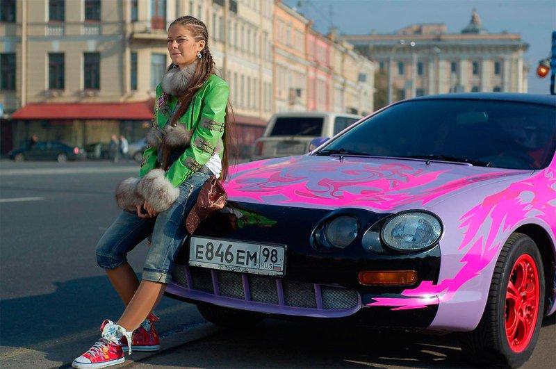 Какие машины участвовали в съёмках фильма «Стритрейсеры»?
