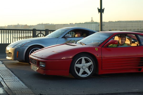 Ferrari F348 и Nissan 350Z