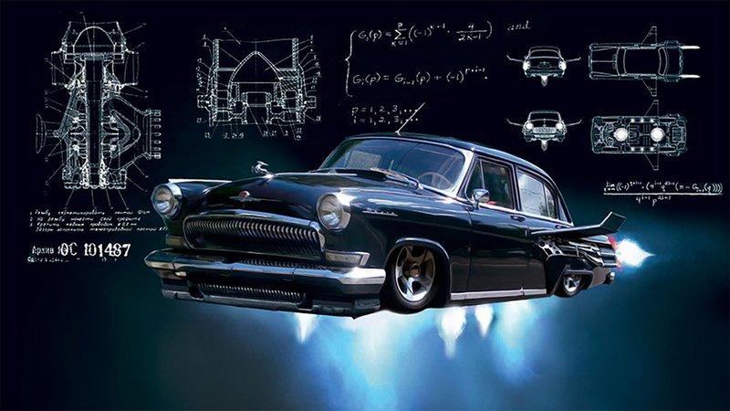 Летающая «Чёрная Молния»: какая машина была в фильме Тимура Бекмамбетова?