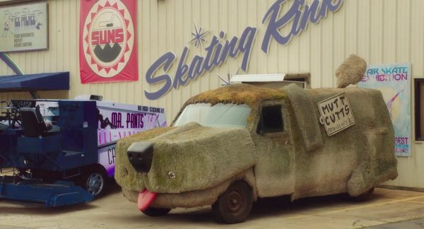 Машина из фильма «Тупой и ещё тупее»