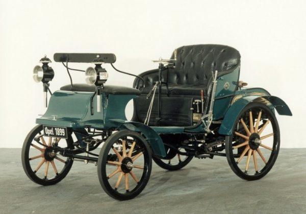 Opel Patentmotorwagen System Lutzmann