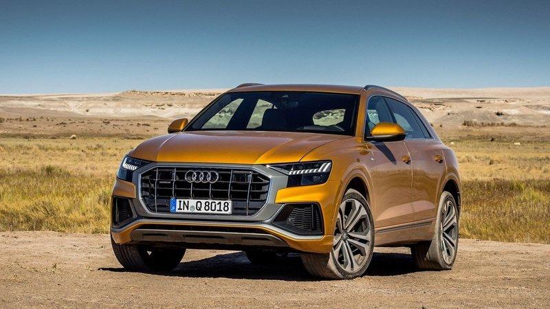 Audi Q8 готовят к прокачке