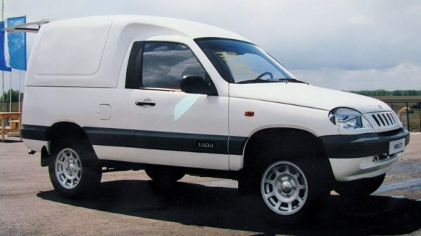 Chevrolet Niva фургон