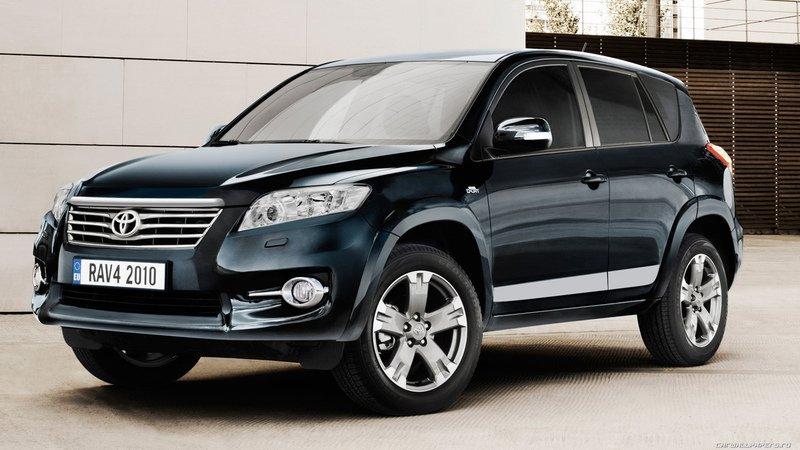 Toyota RAV4 теперь будут делать в России