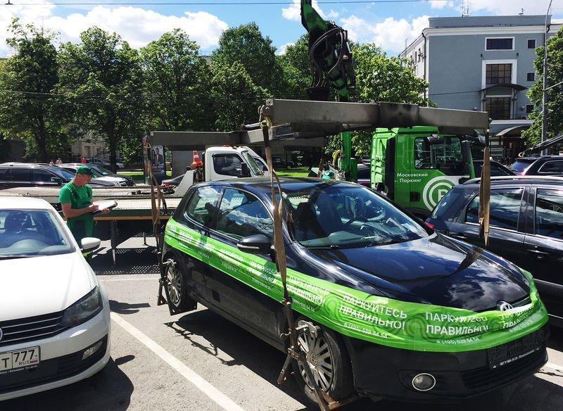 Почему в Москве нельзя парковаться на новых машинах