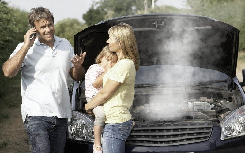 5 причин, почему двигатель перегревается