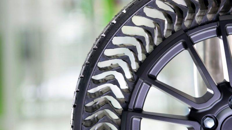 Что такое безвоздушные шины и почему их до сих пор не используют на автомобилях