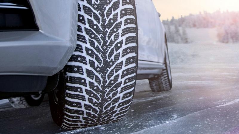5 причин, почему зимние шины теряют шипы