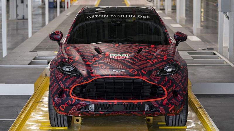 Свежие подробности о внедорожнике Aston Martin DBX