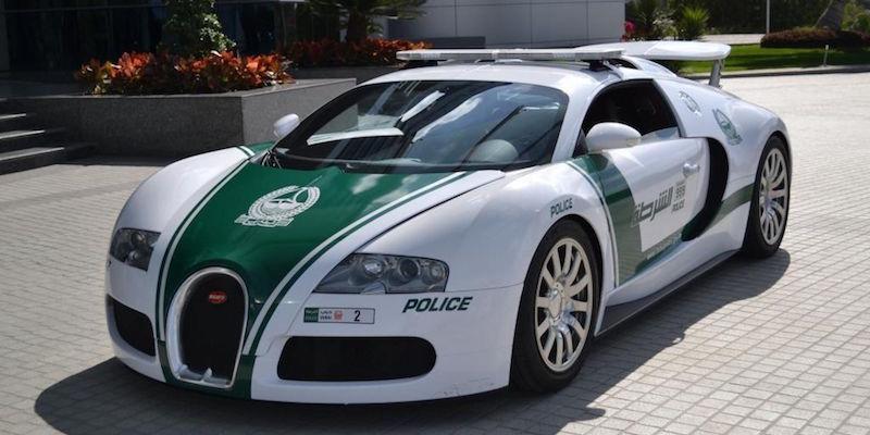 10 самых необычных полицейских автомобилей